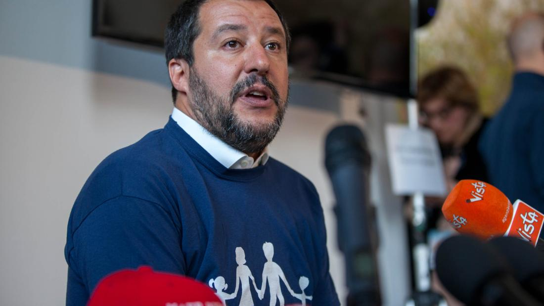 Salvini in Verona addresses World Congress of Families as far-right groups join forces under 'pro-family' umbrella