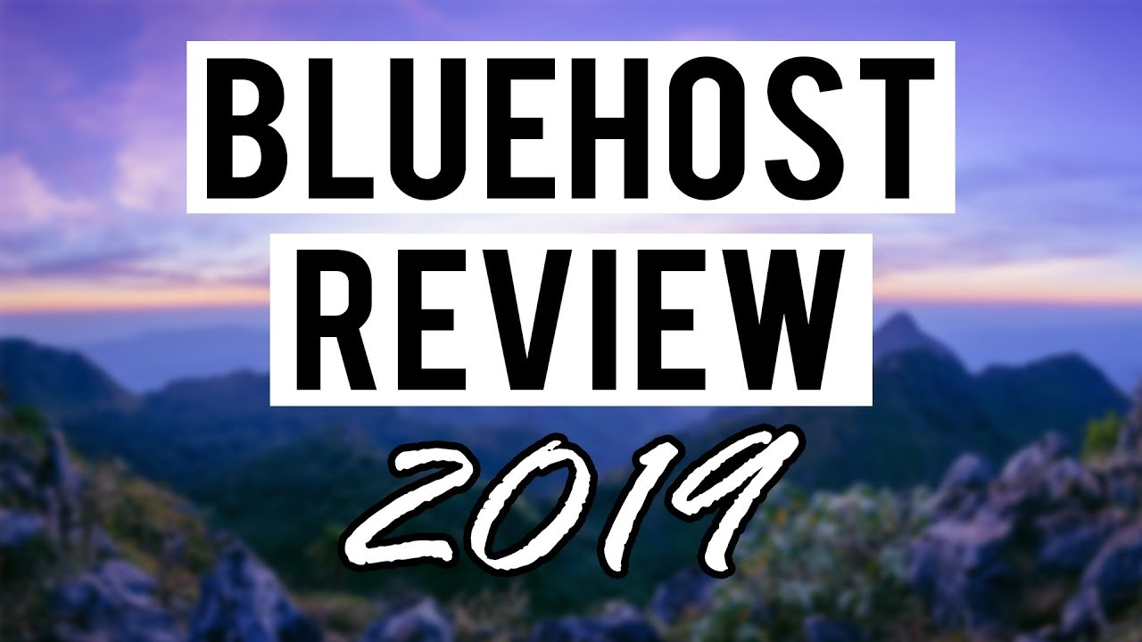 Bluehost Review (2019) Pros and Cons of Bluehost Web Hosting