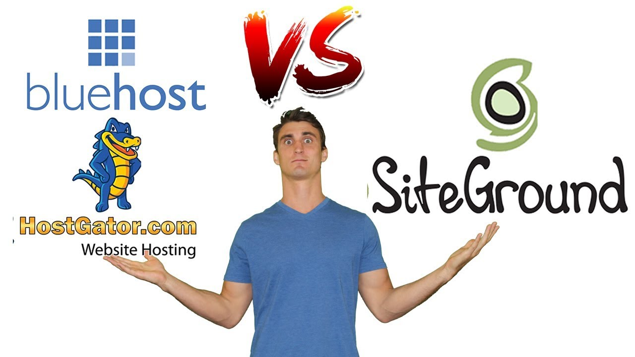 Bluehost vs HostGator vs. SiteGround - Best Host for Wordpress/ Woocommerce