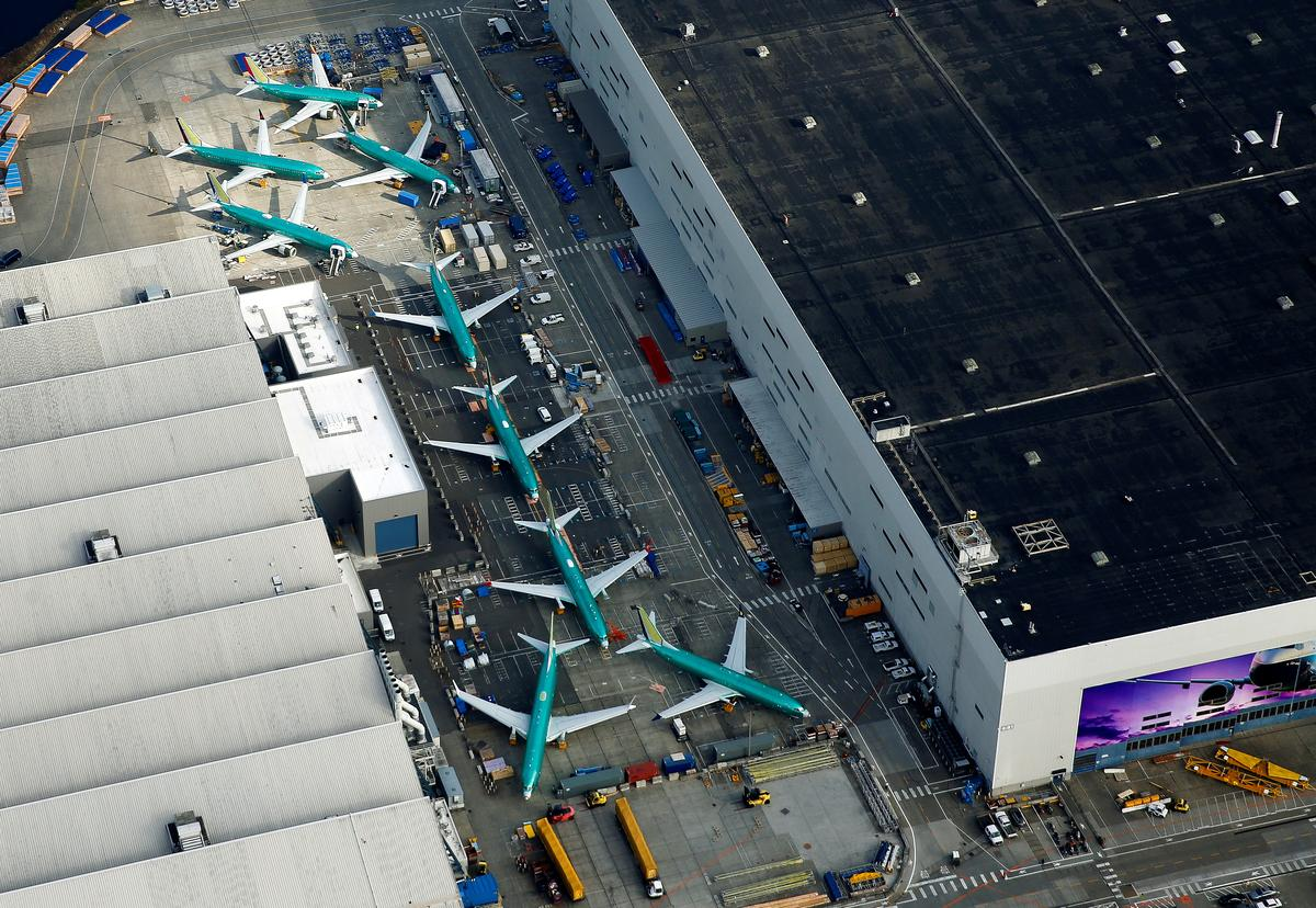 Boeing says making progress to certify grounded MAX jets with software fix