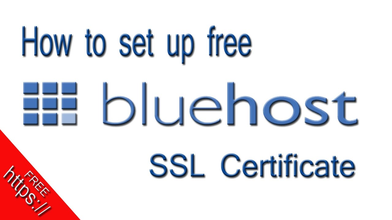 How to Enable Bluehost Free SSL Certificate to Get HTTPS on Blog