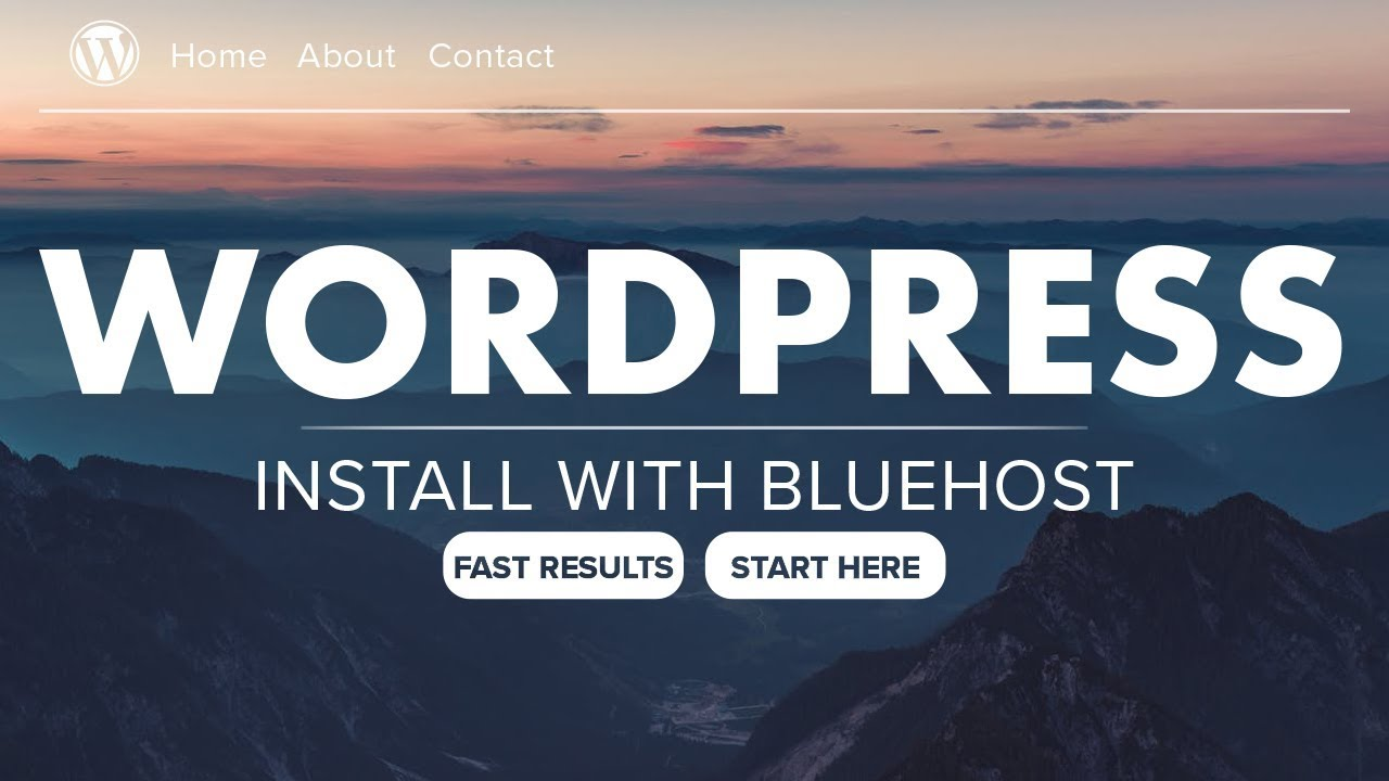 How to Install Wordpress With Bluehost login 2018 - In 7 Easy Steps
