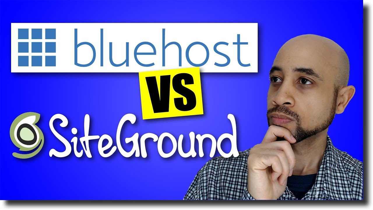 SiteGround Vs Bluehost WordPress Hosting (Head-to-Head Showdown)
