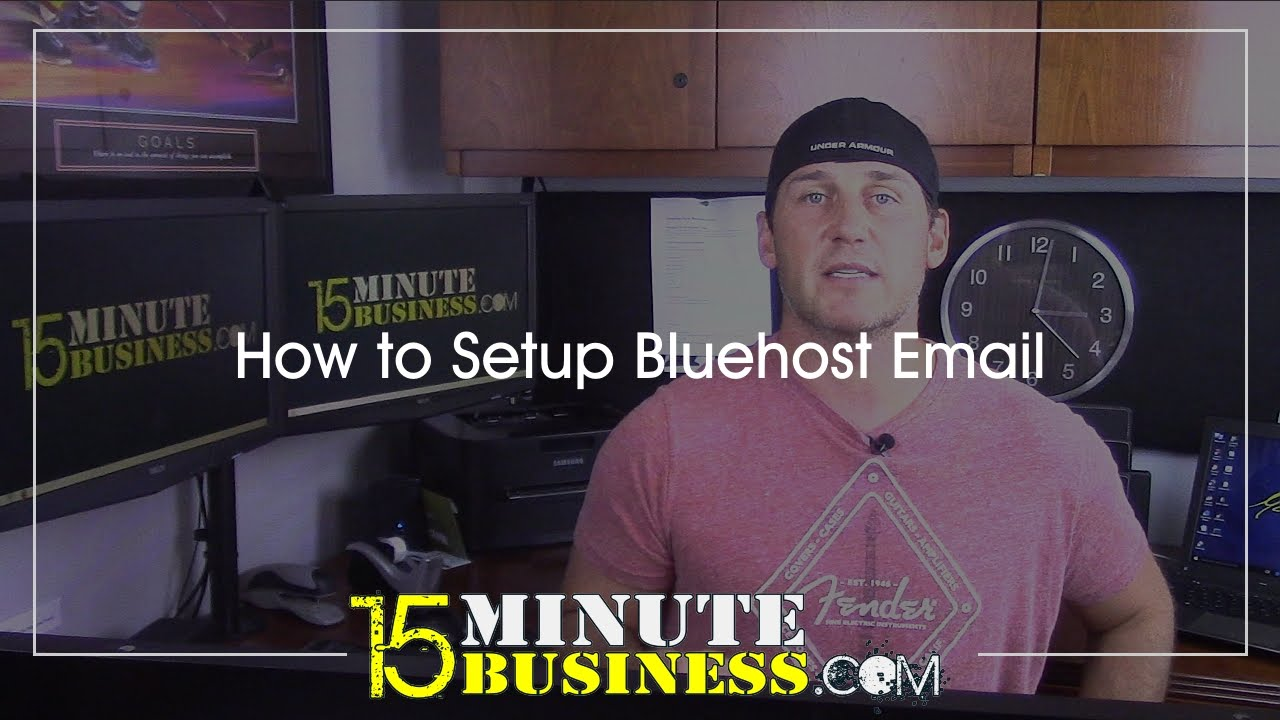 How To Set Up Bluehost Email