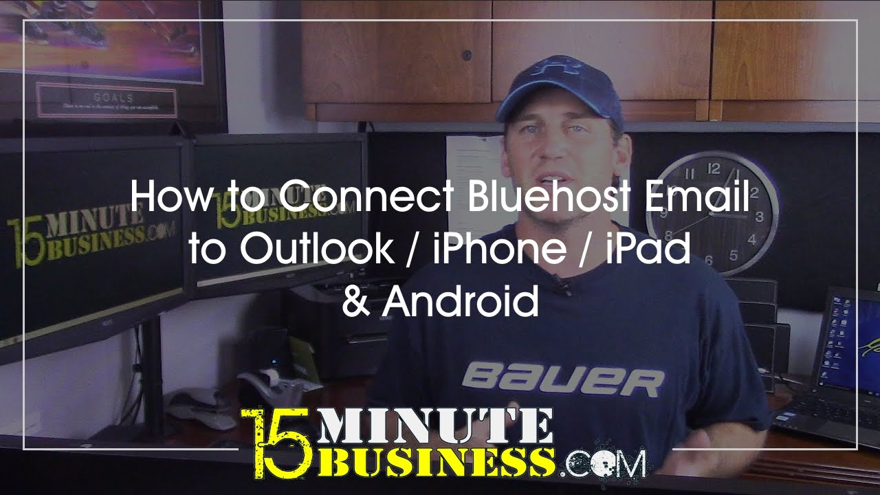 How to Connect Bluehost Email to Outlook