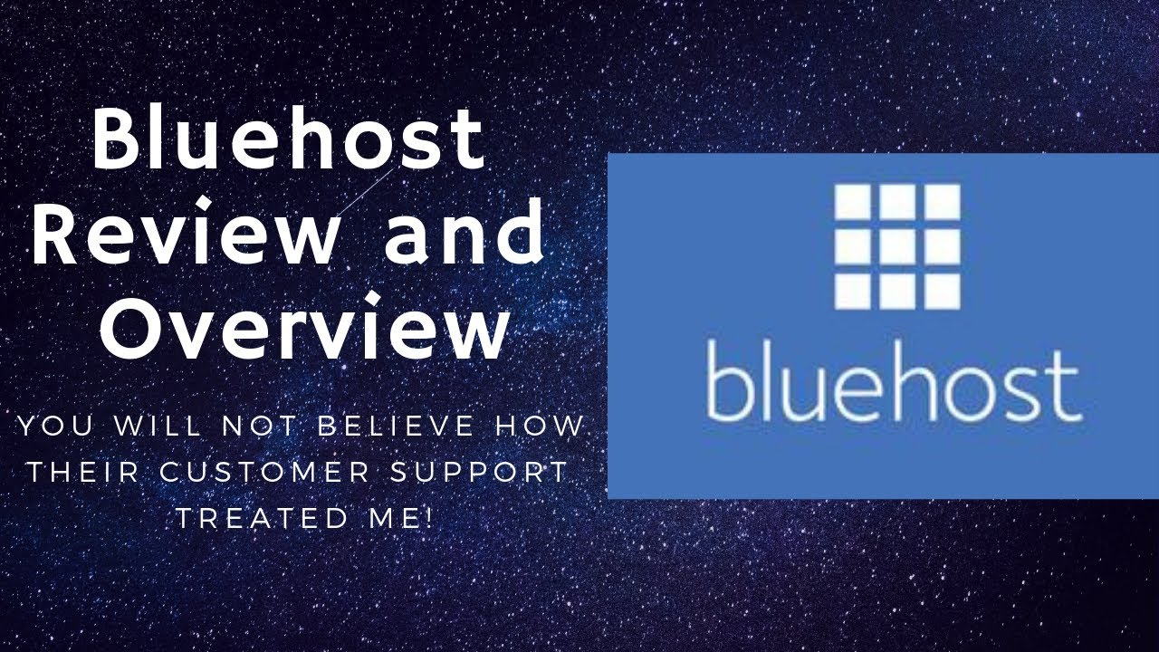 Is Bluehost Legit? Watch To See How Their Customer Support WasTo Me! ????