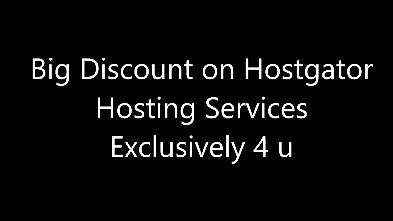 bluehost hosting with big discount on all plans