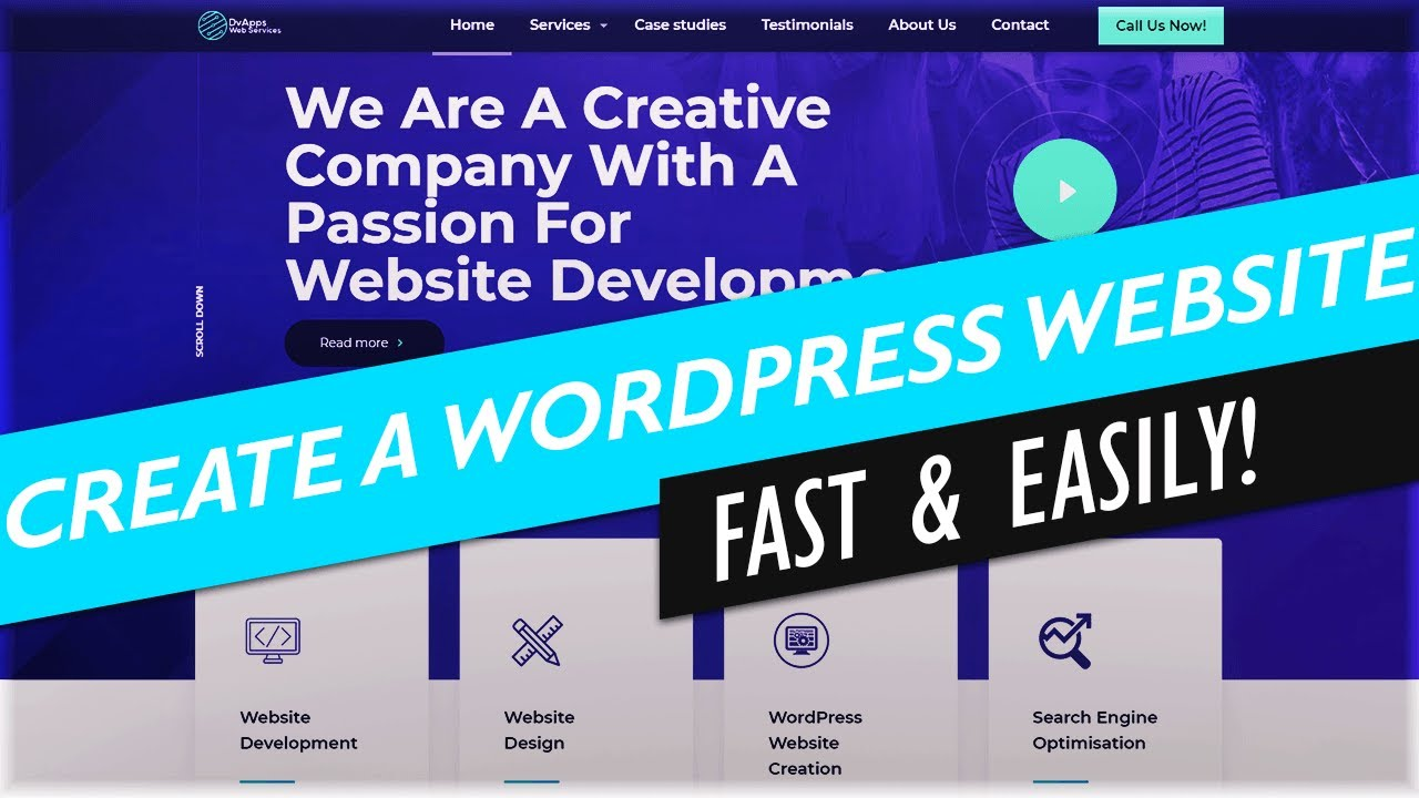 How To Create A WordPress Website 2019 | Make A WordPress Website Easily in 30 MINUTES | BeTheme