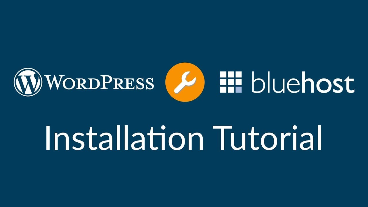 How To Install WordPress With Bluehost 2018