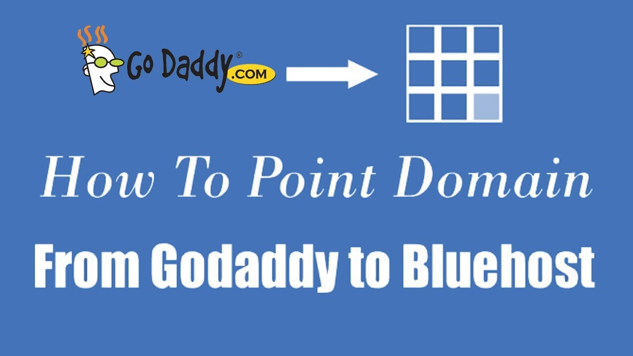 How To Point Godaddy Domain Name On Bluehost Web Hosting