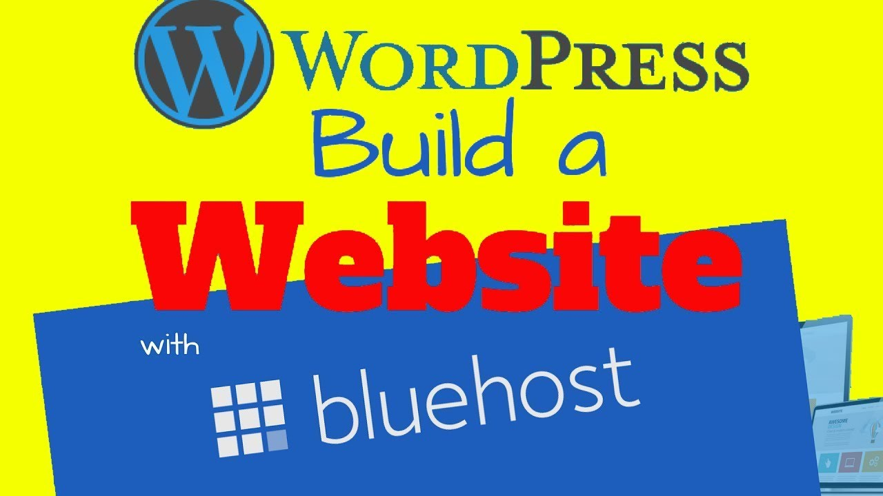 How to Build a Website with Bluehost