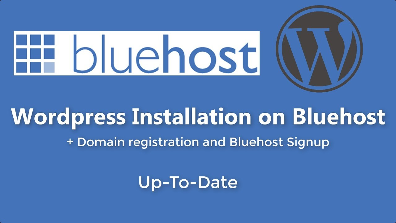 How to Install Wordpress on Bluehost | 2018 Version | Step by Step