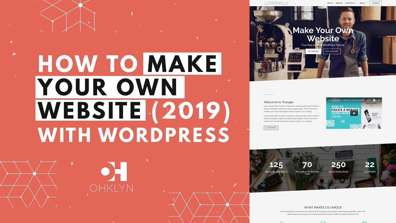 How to Make Your Own Website 2019 | Divi WordPress Tutorial [UPDATED]