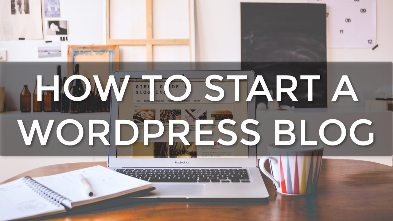 How to Start a WordPress BLOG with Bluehost (2016)