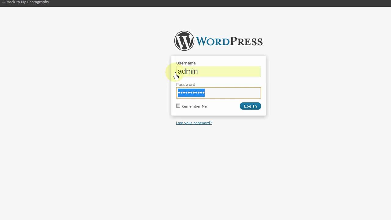 How to install wordpess blog in Cpanel by OneClick | BlueHost.Com