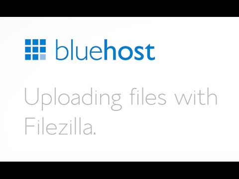 How to upload files using Filezilla.