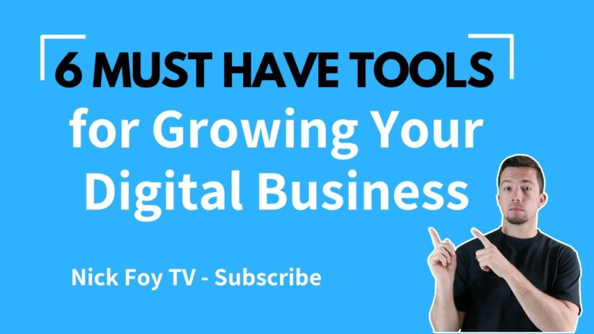 6 Must Have Digital Marketing Tools to Grow Your Online Business