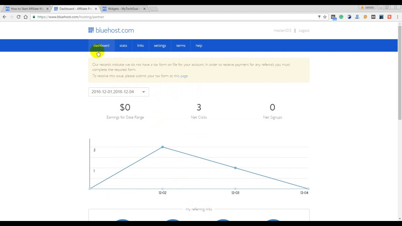 Affiliate Marketing with Bluehost