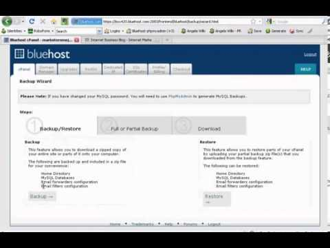 BlueHost hosting cpanel review.mp4