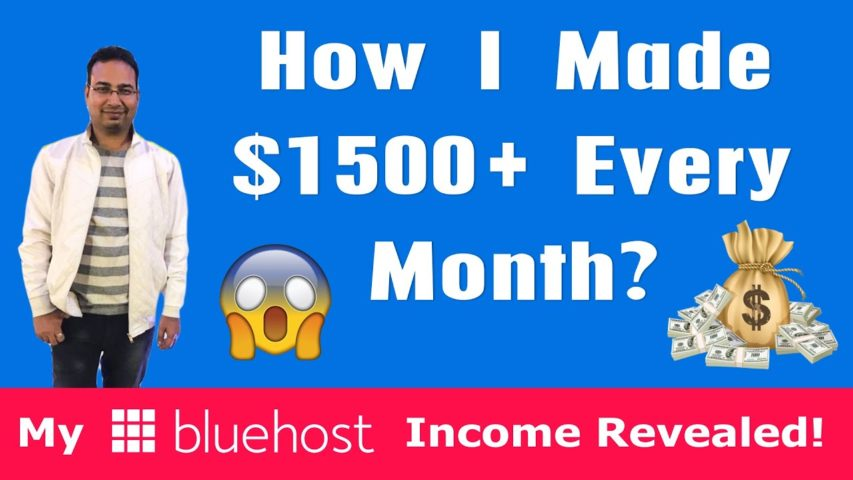 Bluehost Affiliate Program Review: How I Made $1500 Plus Every Month [with Payment Proofs]