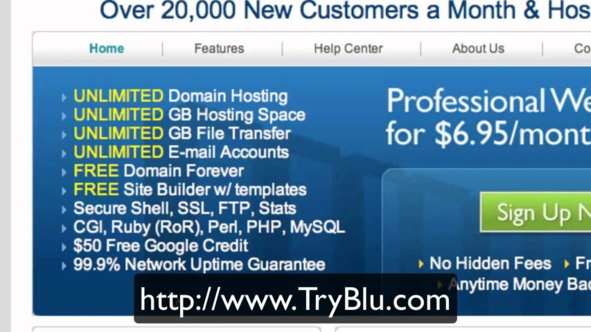 Bluehost - Best web host - professional web hosting service