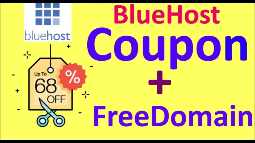 Bluehost Discount Coupon Codes For Best Deals & Renewal Promos 2019