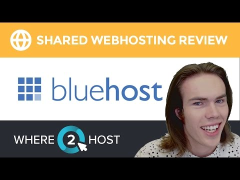 Bluehost Shared Web Hosting Review 2017