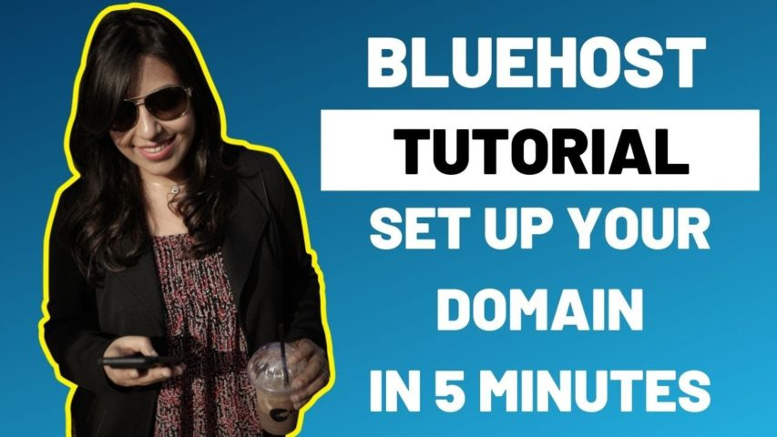 Bluehost Tutorial 2019 | Set up web hosting+email address+subdomain