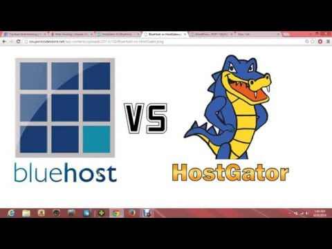 Bluehost VS Hostgator - Depth Review [New]