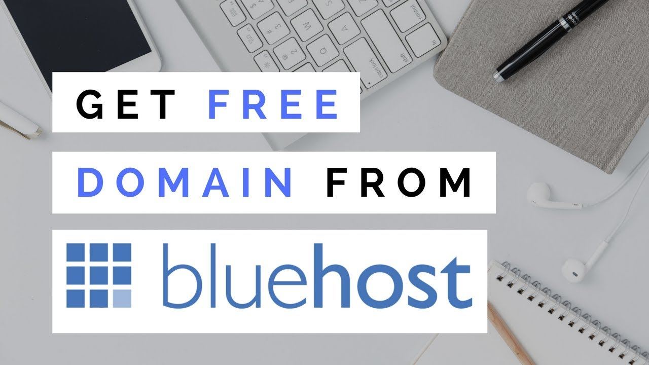 Get Free Domain From Bluehost 2019 | Bluehost Free Domain Name With Hosting Purchase