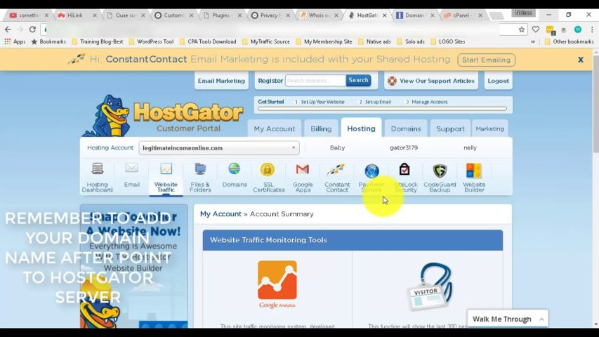 How To Add Your Hostgator Nameservers(DNS) To Your Registrar Company(Namesilo,Namecheap or Godaddy)