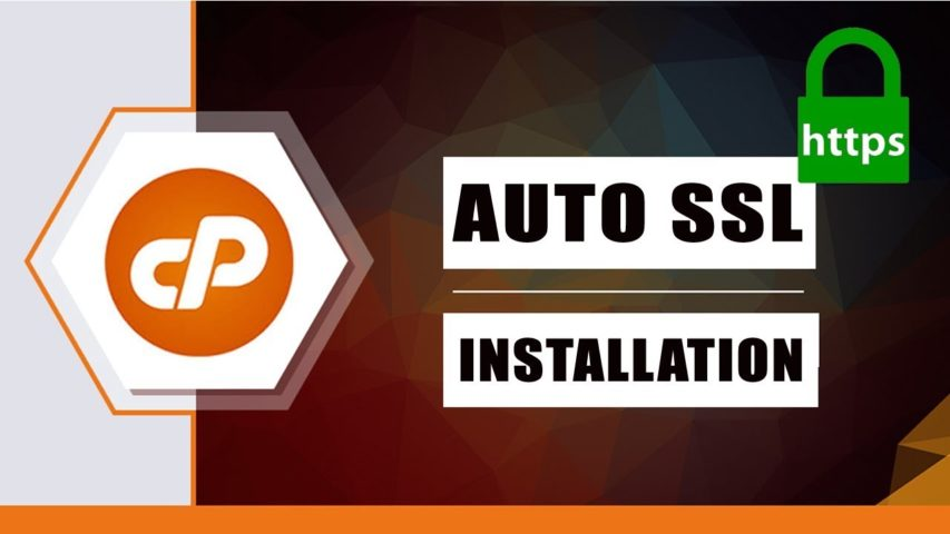"How To ""Install Auto SSL Certificate In cPanel"" 2019 - DomainRacer"
