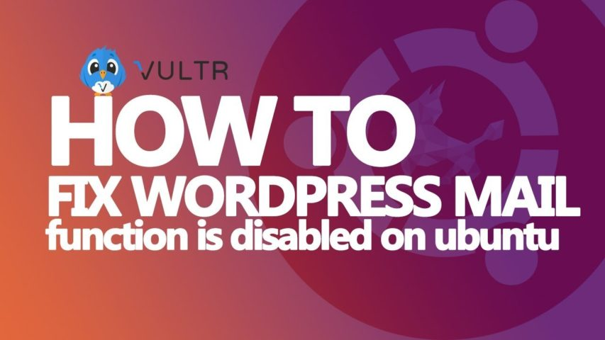 How to Enable WordPress Mail Function on Your VPS Hosting