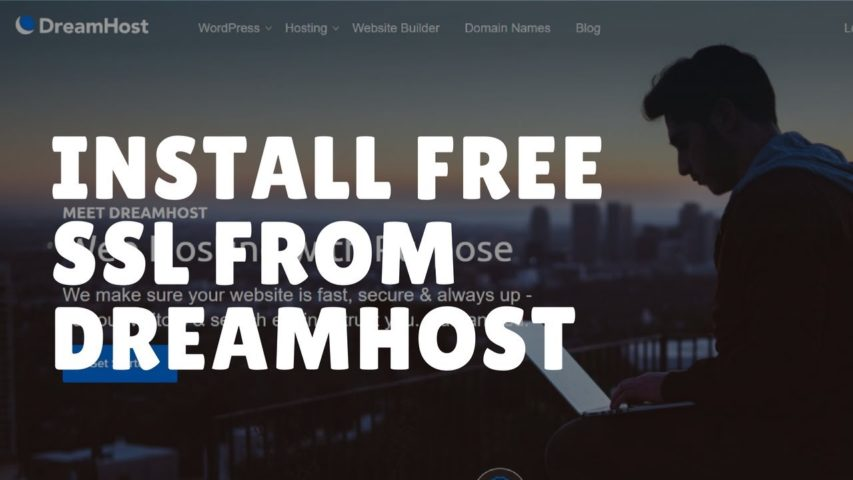 How to Install Free SSL/HTTPS From DreamHost in 2 minutes