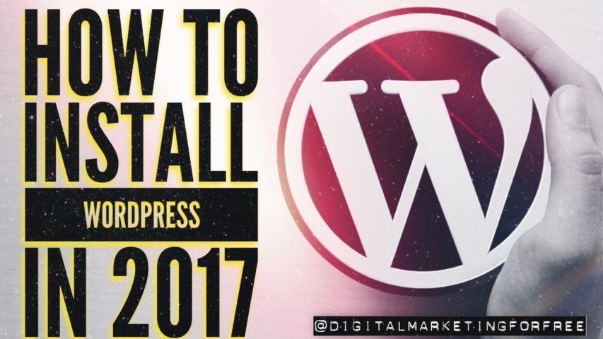 How to Install WordPress on Bluehost in 2017 | BRAND NEW VIDEO for your WordPress blog