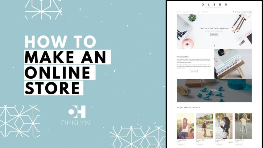How to Make an Online Store (2018)   WordPress eCommerce Tutorial
