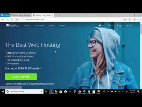 How to Shop for Hosting Using Bluehost - With GoDaddy Price Comparison!
