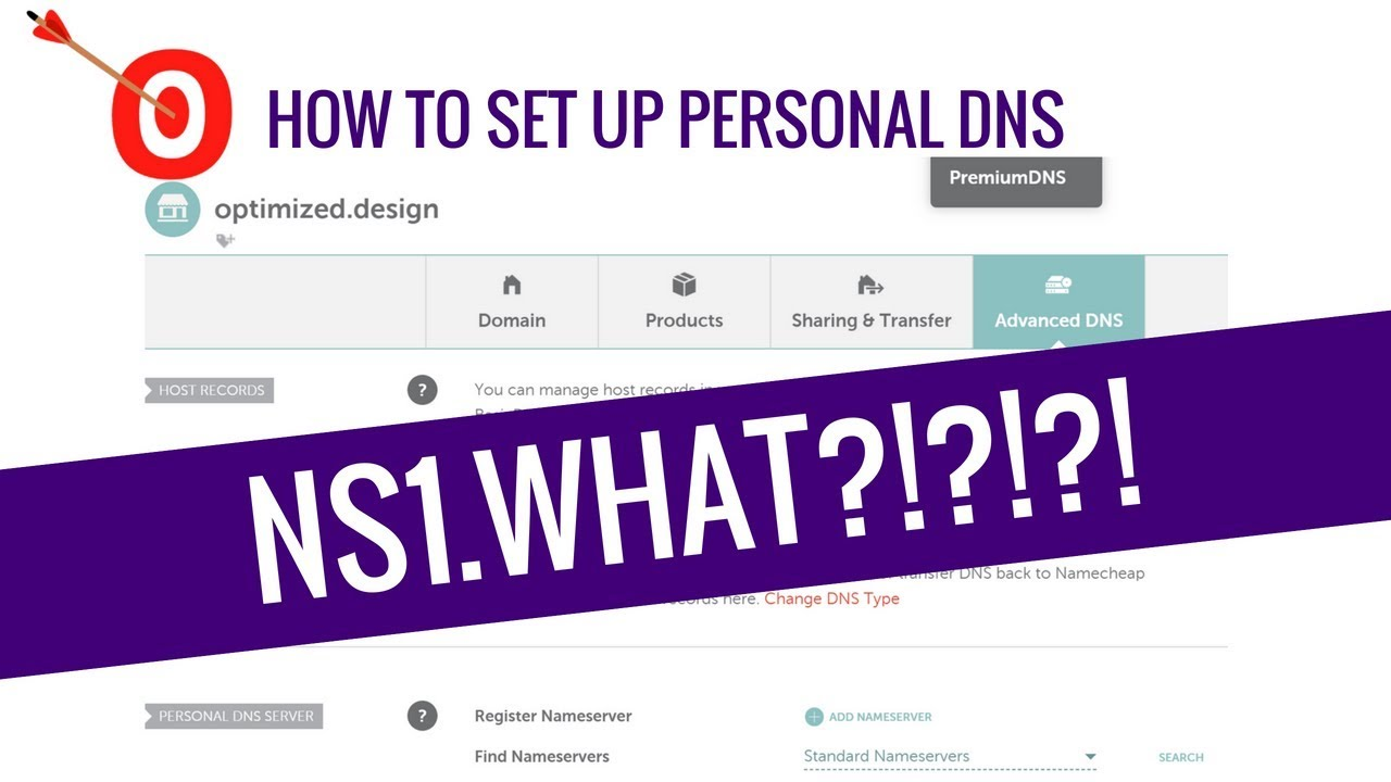 How to add Personal Name Servers | DNS Tutorial | NameCheap | VPS Hosting Requirement