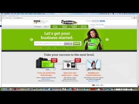How to assign your godaddy domain name to bluehost account 2016