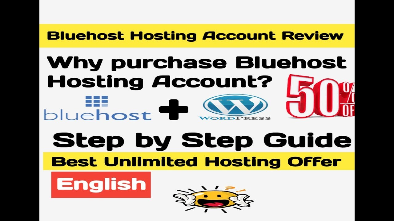 Reason to Buy Bluehost and how to open Hosting account (2019)