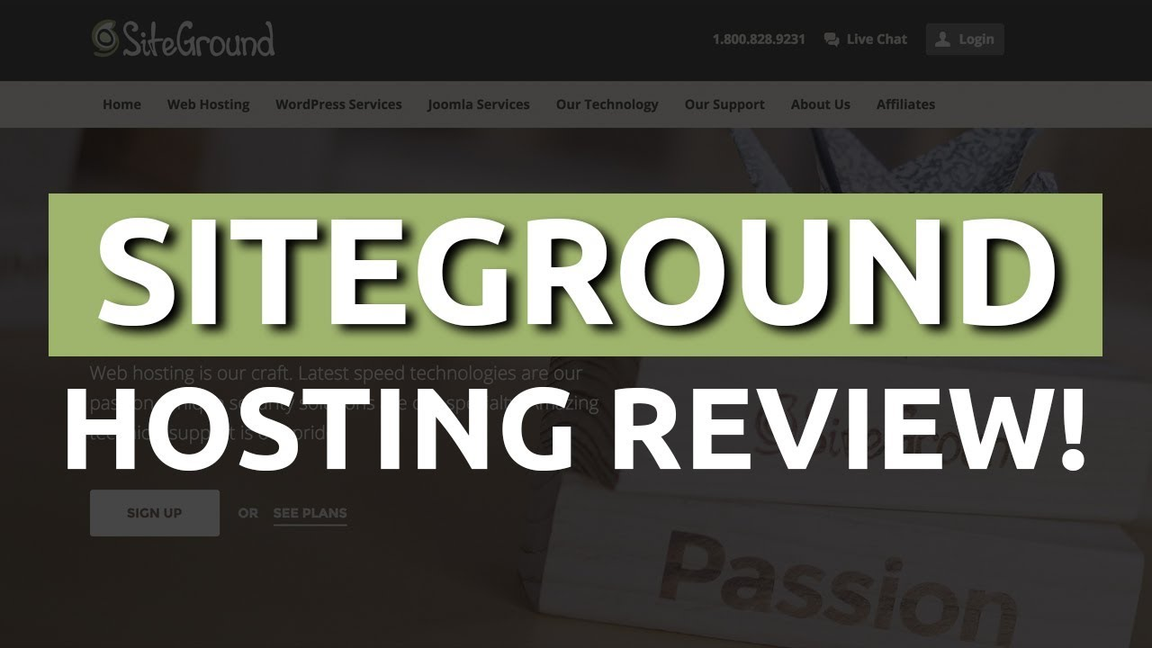 Siteground Review For Wordpress Hosting + Full Tutorial 2017 NEW!