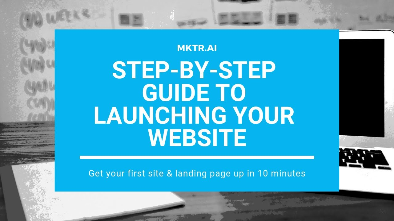 Small Businesses: How to start a website in 10 minutes
