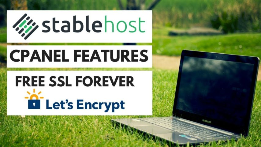 Stablehost Cpanel Features - FREE SSL Let's Encrypt