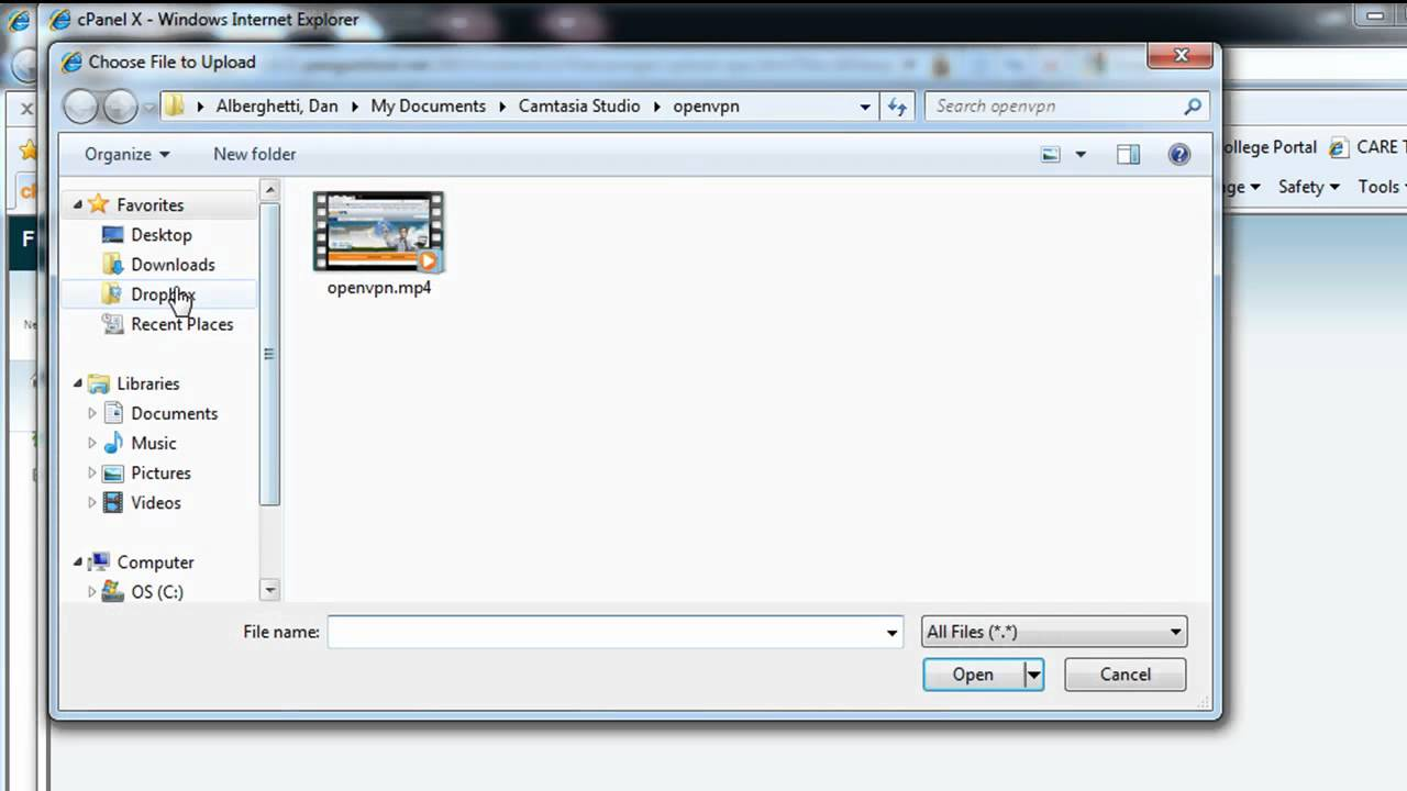 Upload files to your Webserver using cPanel or FTP - Beginner