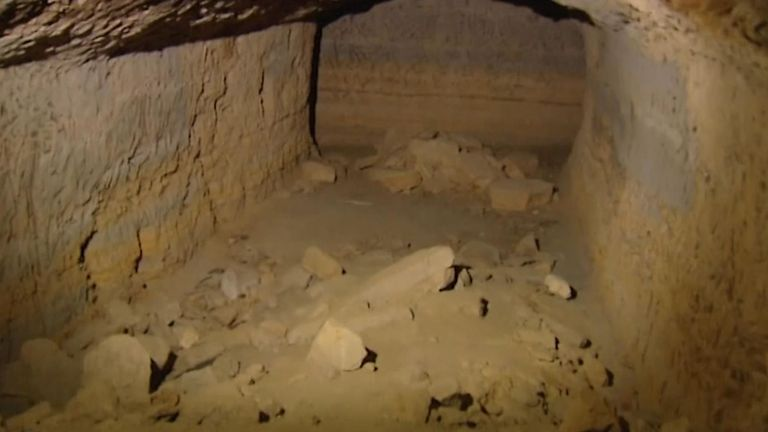 Ms Eaton's body was discovered in a Second World War bunker