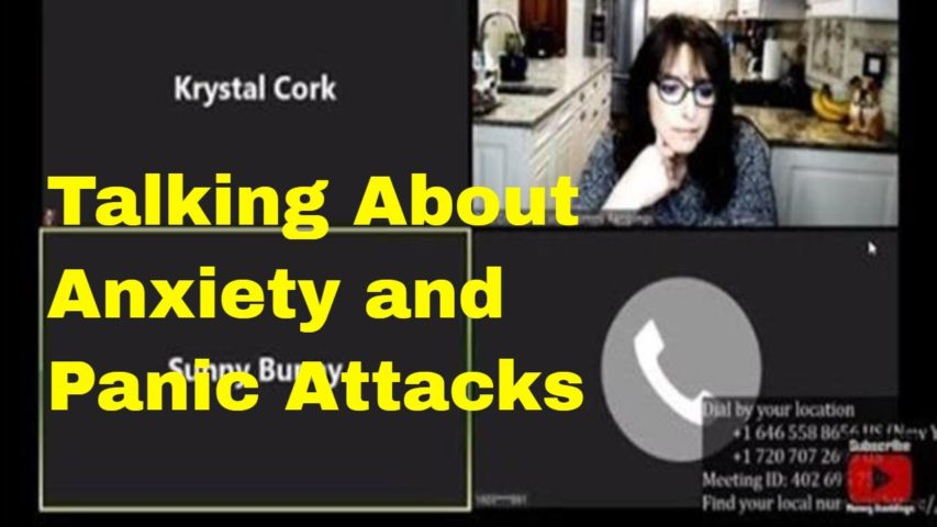 Anxiety and Panic Attacks - Real Talk With Live Panel on Mommy Ramblings