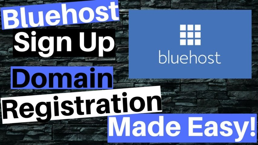 Bluehost Web Hosting Sign up & Domain Registration Made Easy