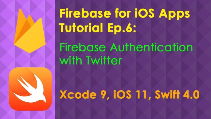 Firebase Ep.6: Authentication with Twitter Login (Xcode 9 Swift 4 iOS 11)