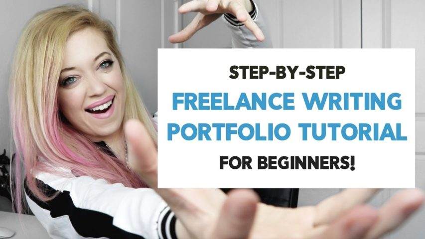 Freelance Writing PORTFOLIO Website: BEGINNER Guide for a CLIENT-WINNING PORTFOLIO!