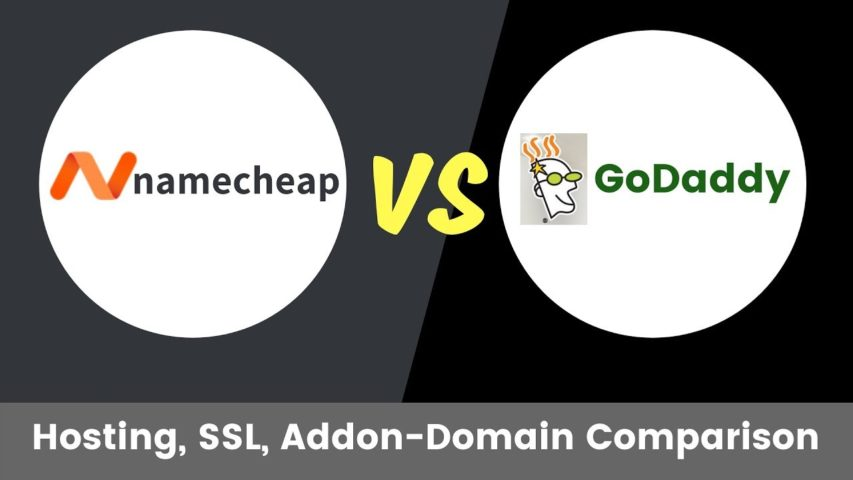 Godaddy vs Namecheap Basic Hosting Plans Comparison | Hosting Plan Comparison